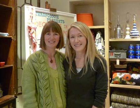 meeting holly becker at anthropologie