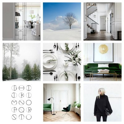 january – color psychology – winter