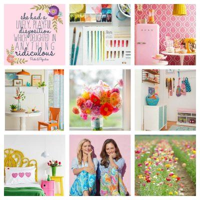 april – color psychology – spring